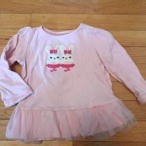 Gymboree Glamour Ballerina Tulle top girls 2T pink